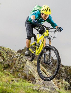The Commencal Meta SX1 is very rewarding on descents