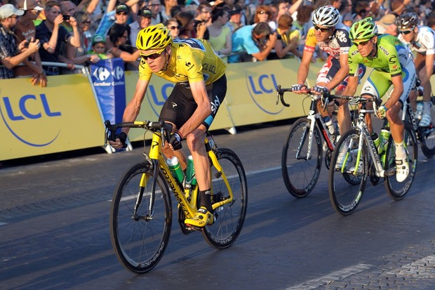 Chris Froome's Tour success has helped British Cycling recruit new members