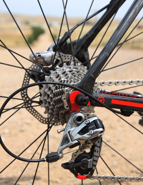 We dressed our Alchemy Helios tester with SRAM's latest Red 22 group