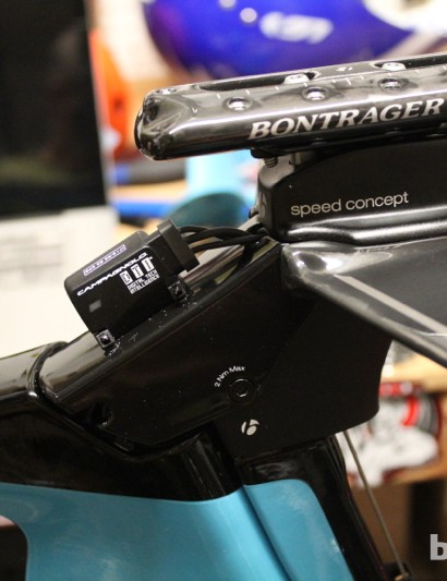 Trek Speed Concept 9 Series: Once together, though, the front end is quite clean to the eye and the wind