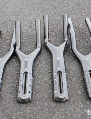 Trek Speed Concept 9 Series: There are four extension options