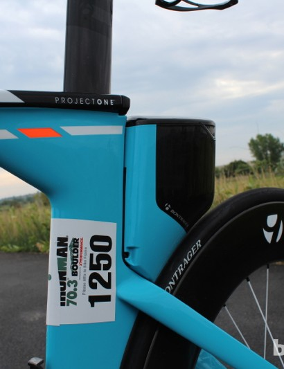 Trek Speed Concept 9 Series: The Draft Box blends aerodynamics and aesthetically with the frame. Plus, it's pretty darn handy