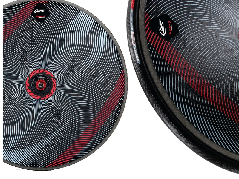 Zipp's new Impress Super-9 Disc can be printed on