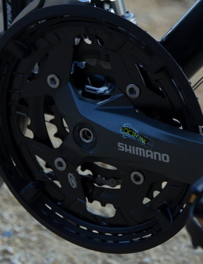 The Sprint 7.0 features Shimano Acera Octalink cranks - a good addition for the price