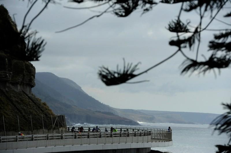 The famous Sea Cliff Bridge