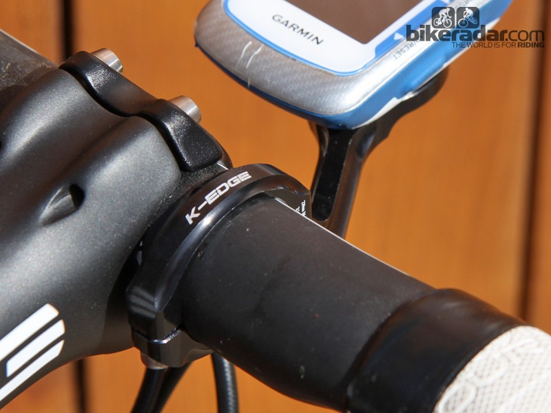 K-Edge's latest mount for newer Garmin Edge computers is a significant improvement over the company's original version. It works better and looks better, too