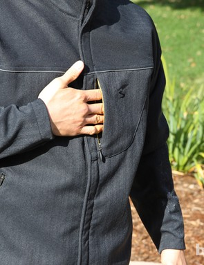 A trio of exterior pockets (plus three interior pockets) provide ample storage