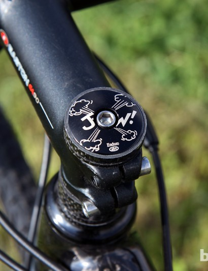Yes, Jeremy Powers (Rapha-Focus) not only has his own nickname (J-Pow!) but his own logo, too