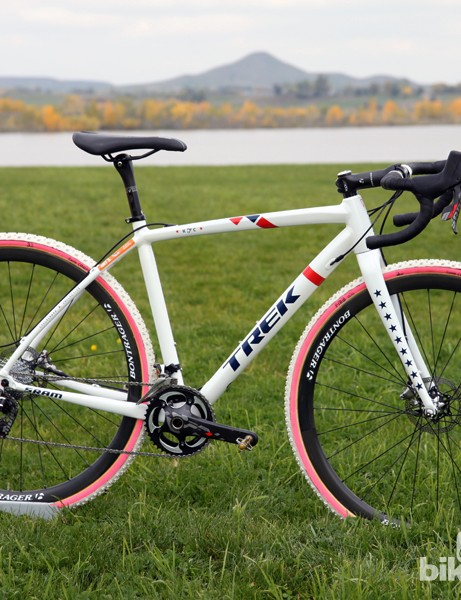 Trek created the new Crockett specifically around star US cyclocross racer Katie Compton (Trek Cyclocross Collective)
