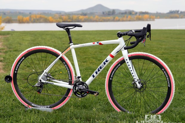 Trek created the new Crockett specifically around star US cyclocross racer Katie Compton (Trek Cyclocross Collective)