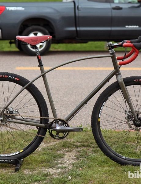 Van Dessel has also revamped its popular WTF model with more tire clearance and a PF30 bottom bracket shell for easier singlespeed conversions