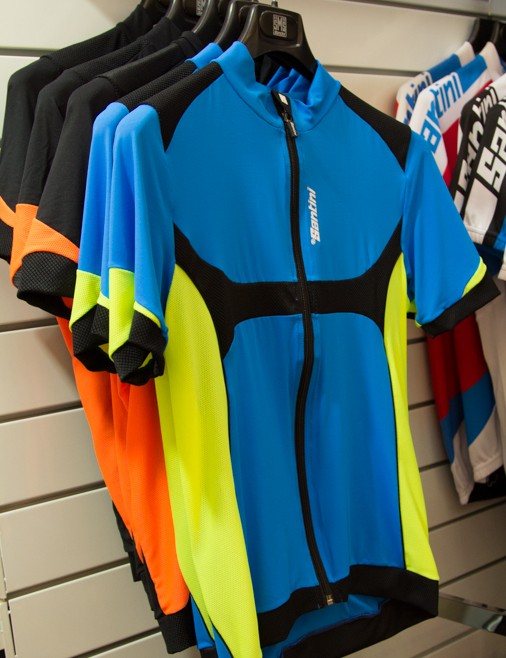 2014 Santini Heatsink Jersey - these looked incredibly comfortable, breathable and lightweight. They cost AU$249