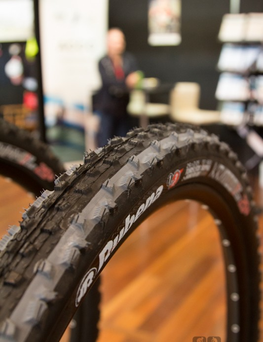 Rubena tyres designed in the Czech Republic - here the Kratos is a popular all-round tread yet is still fast enough for XC racing