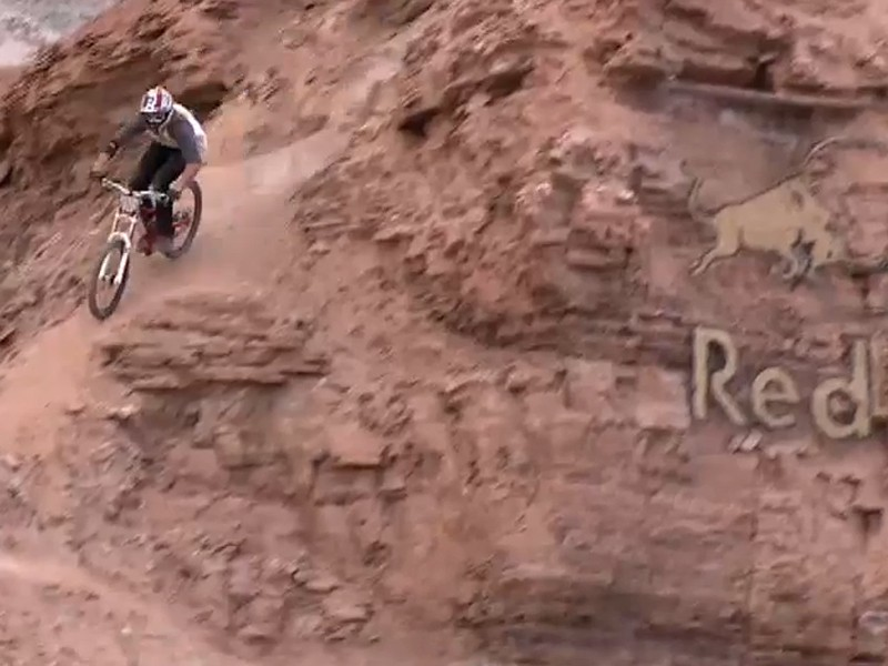 Red Bull Rampage was conducted in high winds