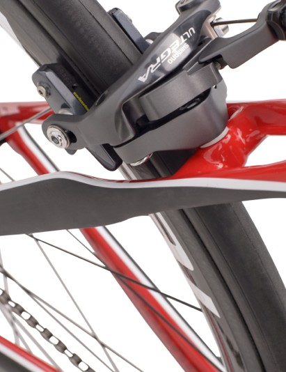The Specialized Alias has aero shaping on the seat stays as well as the main tubes