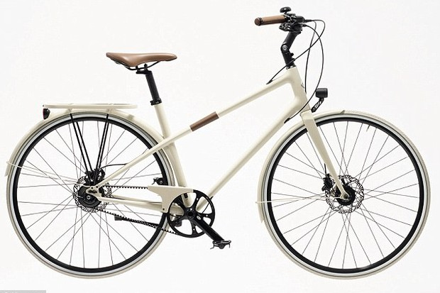 The Time-made Hermès town bike that costs €8,100