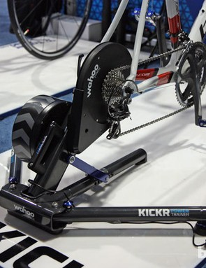 The iPhone controlled Wahoo KICKR turbo can now let users tackle any Strava segment from around the world