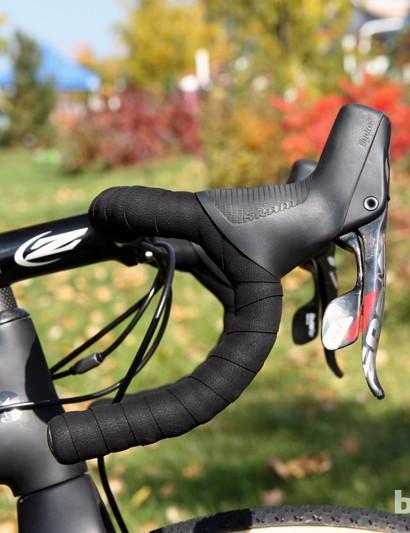 Zipp SL-70 Ergo bars feature a subtle ergonomic bend