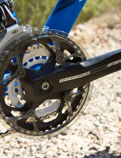 The FSA cranks are basic and hold a fair amount of weight, but they worked fine