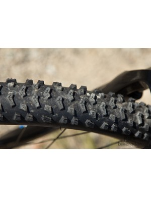 Giant uses its own rubber on the Talon 27.5 4. These tyres performed admirably well in a wide range of conditions