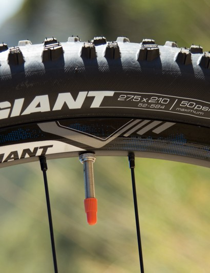 The Giant Talon 27.5 - no question it's the middle sized wheel