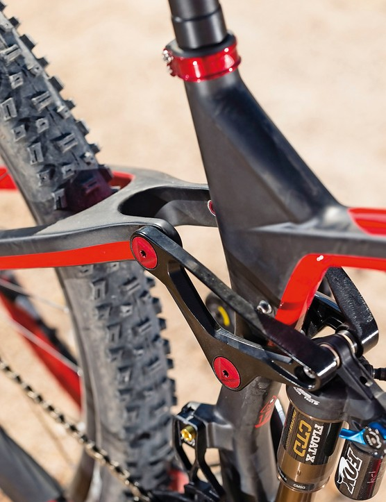 Kashima coated Fox suspension is a spec highlight