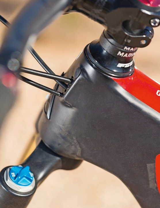 The Marin Mount Vision CX-M Pro has a 67.5-degree head angle
