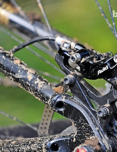 The Avid Elixir 9 Trail brakes have remained trouble-free all summer