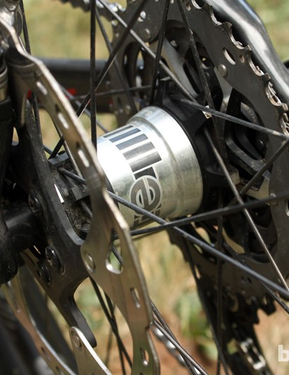 Bontrager's new Rapid Drive freehub internals boasts a quick 6.67-degree engagement speed thanks to a 54-tooth ratchet ring