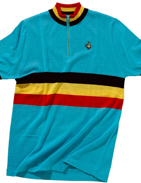 De Marchi 2014 Authentic line: The Belgium 1974 replica jersey