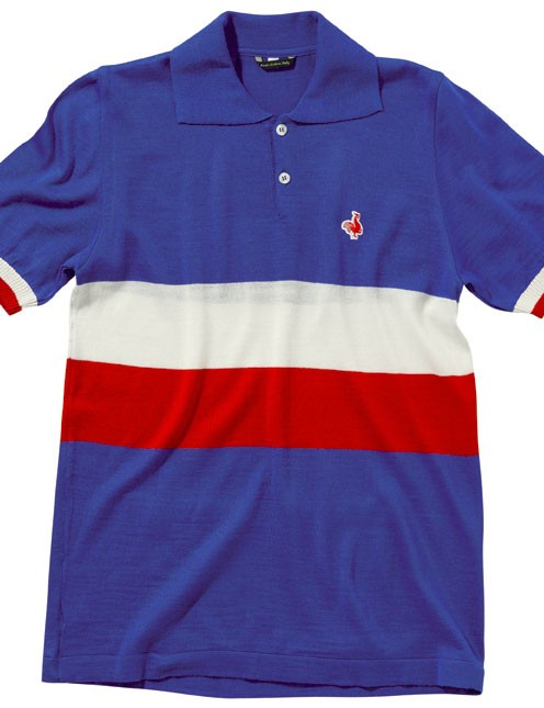 De Marchi 2014 Authentic line: The France 1954 replica jersey