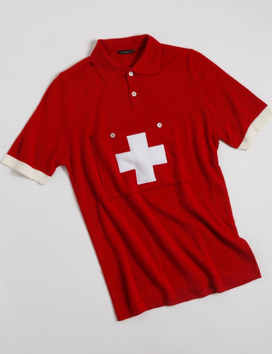 De Marchi 2014 Authentic line: The Switzerland 1954 Kubler replica jersey