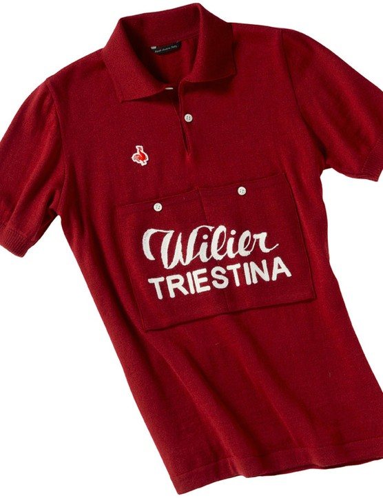 De Marchi 2014 Authentic line: The Wilier 1951 replica jersey