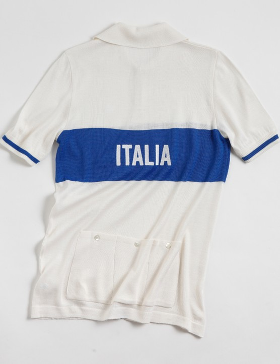 De Marchi 2014 Tradition line:The Azzurra jersey (back)