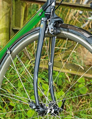 It's not just an 853 steel frame – the fork is also made from the material