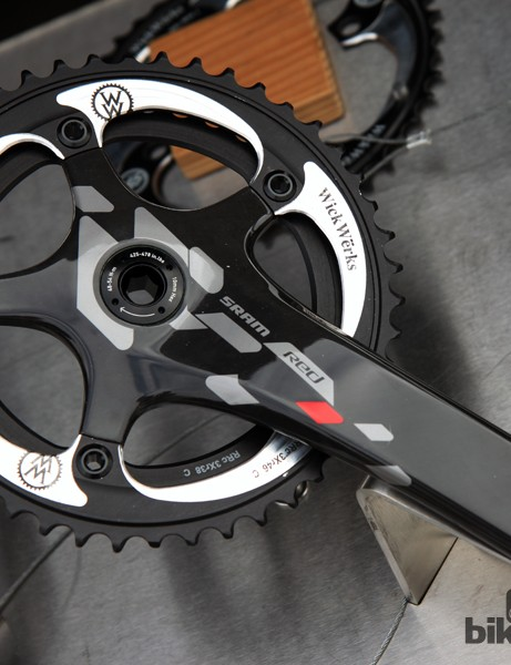 WickWërks is one of few companies to offer CX-specific chainrings for SRAM's new Red 22 and Force 22 crankarms
