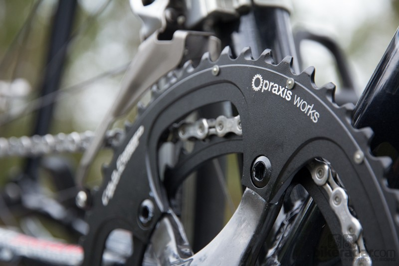 Praxis Works Standard Road Chainrings - sold as a set and also available in 110BCD compact sizes