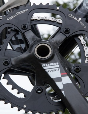 Praxis Works Standard Road Chainring Set - we used ours on an older generation SRAM Red crank and won't be switching back
