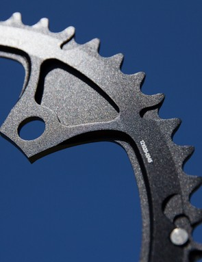 Praxis Works Standard Road Chainring Set - these profiles are only attainable with forging