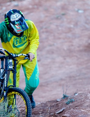 Fortunately Cam Zink didn't put the new technology to test