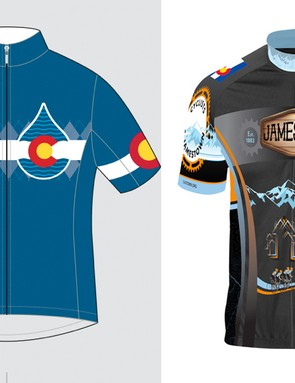 Castelli and Curve are selling jerseys to benefit those affected by the Colorado floods