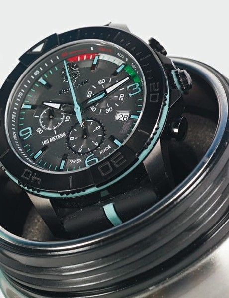 Bianchi have swapped a watch box for a bidon