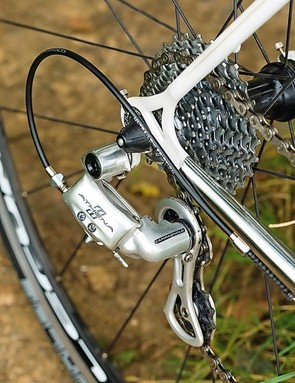 Campag has to be the groupset choice for a classic Italian frame