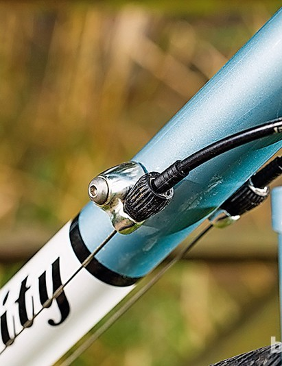 Barrel adjusters allow you to tweak the shifting on  the fly