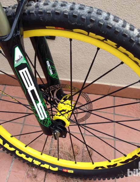 Mavic's Crossmax wheel and tyre combo