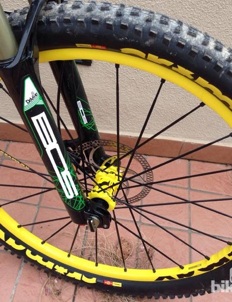 Mavic's Crossmax wheel and tyre combo