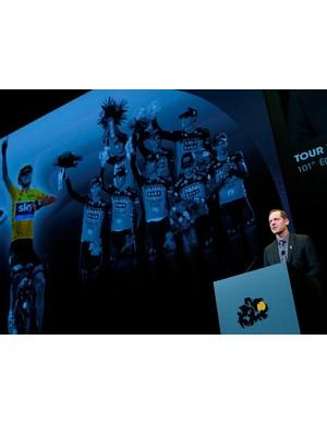 Prudhomme unveils the 2014 Tour de France race route