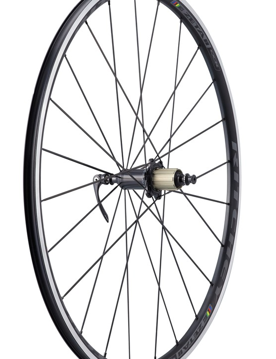 The Ritchey WCS Zeta II alloy clinchers are all new for 2014 with wide-profile tubeless-compatible rims and lightweight Phantom Flange hubs