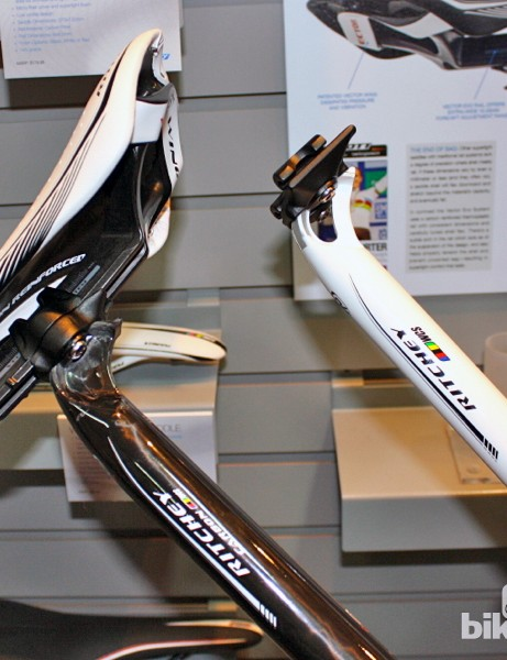 Current Ritchey seatposts with the 'LINK' two-bolt head can be easily adapted to work with the company's Vector Evo monorail saddle system