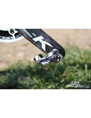 Berden runs Shimano XTR pedals